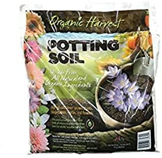 Organic Harvest Potting Mix Soil for Vegetables, Herbs and Flowers, 4 Quart (Packaging May Vary) (1 Bag)