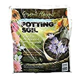 Organic Harvest Potting Mix Soil for Vegetables, Herbs and Flowers, 4 Quart (Packaging May Vary) (1...