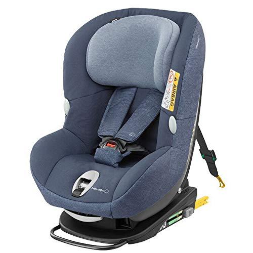 Bébé Confort Milofix Seggiolino Auto 0-18 Kg, Gruppo 0 +/1 per Neonati e Bambini fino ai 4 Anni, Isofix con Top Tether, Reclinabile e Base Girevole, Colore Nomad Blue