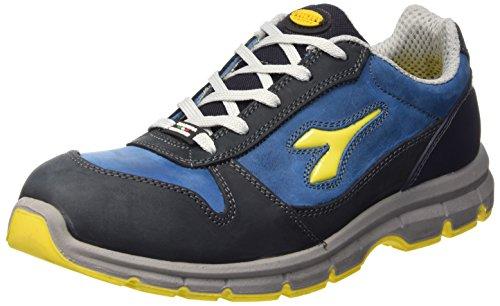 Diadora Run Low S3, Unisex-Erwachsene Arbeitsschuhe, Blau (Blu Scuro/blu Cielo), 46 EU