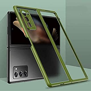 for Samsung Galaxy Z Fold 2 5G Clear Case,Transparent Soft Case, Ultra Thin Full Body Shockproof and Scratch Protection Co...
