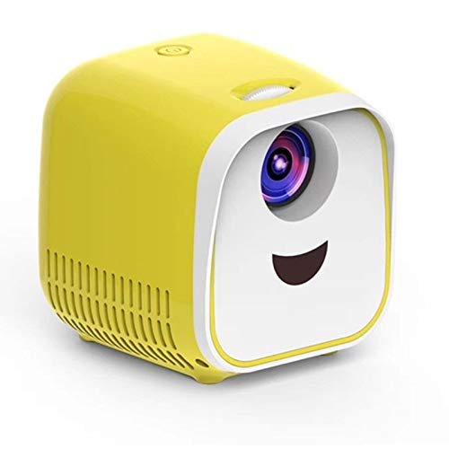 ARCH Children's Projector Portable LED Mini Projector,Multimedia Home Theater Movie Projector, Proyector with Diffuse Reflection Principle,Built-in Speaker for Home Use,The Best Gift for Children