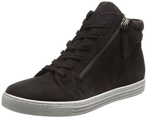 Gabor Shoes Gabor Shoes Damen Comfort Basic Derbys, Grau (Dark-Grey (Micro), 37.5 EU