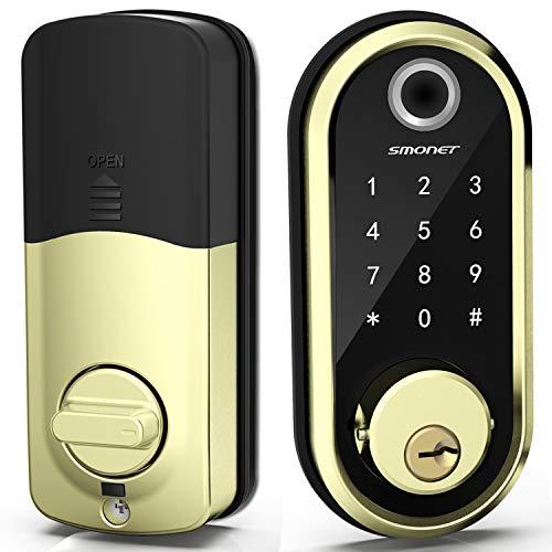 Smart Lock, Fingerprint Smart Deadbolt Lock