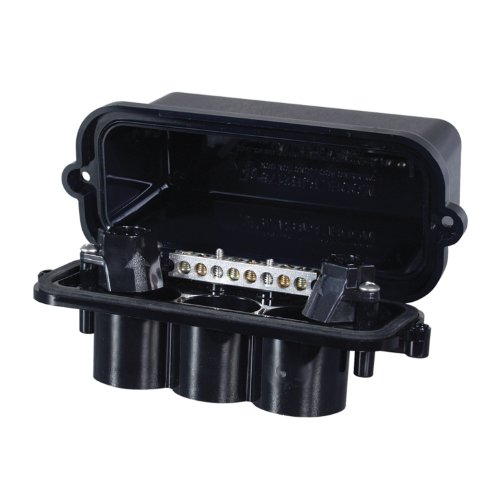 Intermatic PJB2175 2-Light Pool/Spa Junction Box, Black