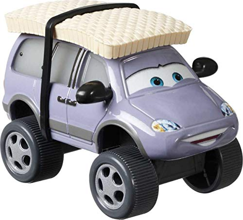 Disney and Pixar Cars Die-Cast Oversized Leroy Traffik with Snow Tires Vehicle, Collectible Toy Truck Gifts for Kids Age 3 and Older