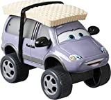 Disney Cars Toys Pixar Cars Die-Cast Oversized Leroy Traffik with Snow Tires Vehicle, Collectible Toy Truck Gifts for Kids Age 3 and Older, Multi