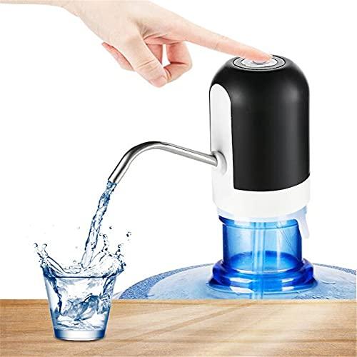 N\A Dispensador De Bomba De Botella De Agua Eléctrica Bomba De Agua Eléctrica Portátil para Bomba De Agua Potable Automática USB para Viajes De Oficina En Casa A