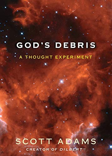 Diseño de la portada del título God's Debris