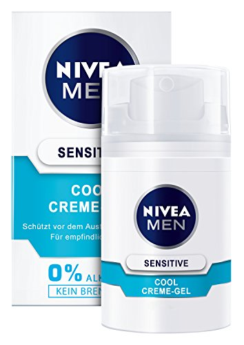 Nivea Men Sensitive Cool Creme-Gel im 1er Pack (1 x 50 ml)