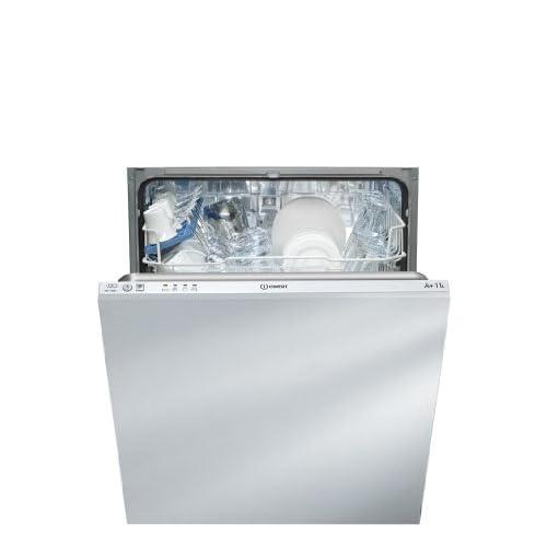Indesit DIF 14B1 EU Completamente incorporato, A + - Lavastoviglie (Completamente incorporato, Dimensioni massime (60 cm), Pulsanti, 1,28 m, 13 coperti, 49 dB)