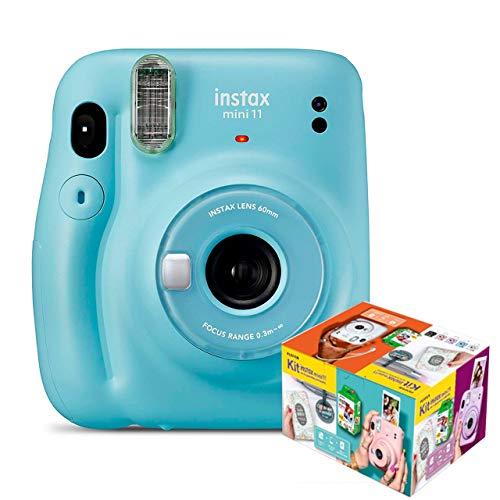 Fujifilm Instax Mini 11 Azul Cielo Cámara Instantánea Kit Mr. Wonderful
