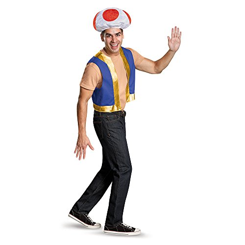 Mario Toad Costume for Adult