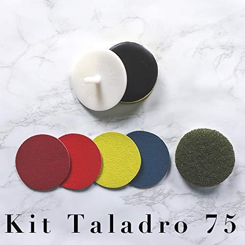 Kit taladro 75 micro pulido y abrillantado para mármol y terrazo