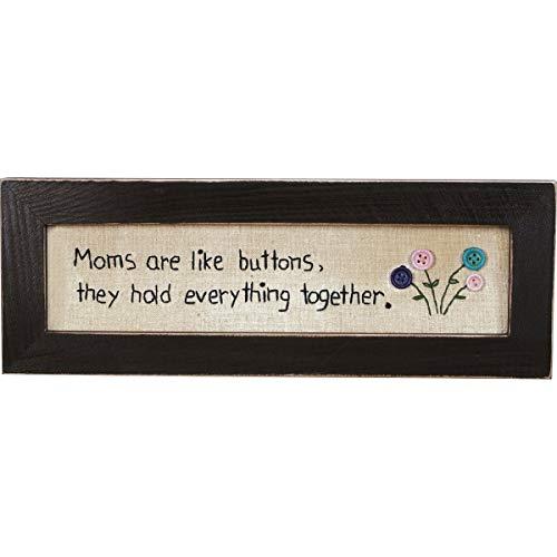Primitives By Kathy 19329 Stitchery - Moms are Like Buttons