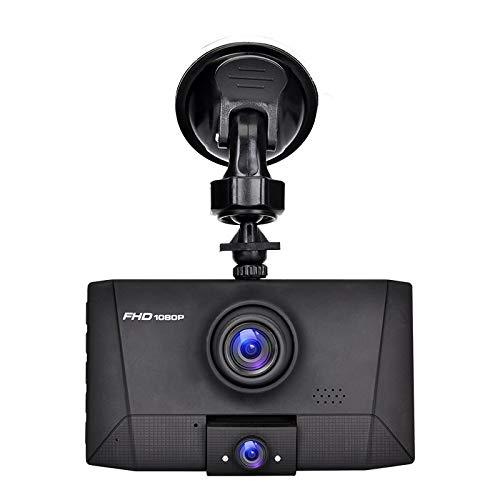 Dash Cam Für Autos Dvr 3 In 1 Dvr Dash Camera Auto Videoüberwachung Auto Video Recorder Registrator 2 Kameras 170 Weitwinkel Cardvr