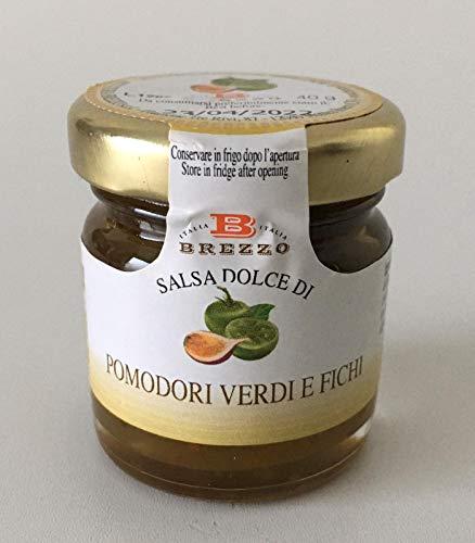 Brezzo - Salsa Dolce di Pomodori Verdi e Fichi 40 gr.