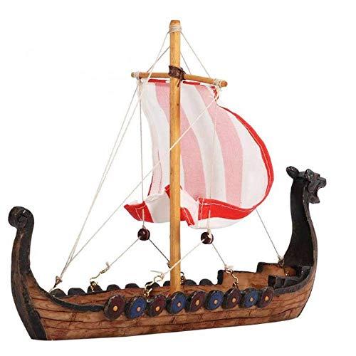 Traditionelle Piraten-Segel Harz gebildet von der Schiffs-Ornamenten, gebraucht zu dekorieren Holz-Handwerk Handgefertigte Vintage Schiffs-Modell 1yess
