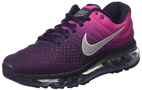 Nike Damen Air Max 2017 Traillaufschuhe, Mehrfarbig (Purple Dynasty/Summit White/Fire Pink 500), 36.5 EU