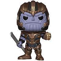 Funko- Pop Bobble: Avengers Endgame: Thanos Marvel Collectible Figure, Multicolor, Estándar (36672)