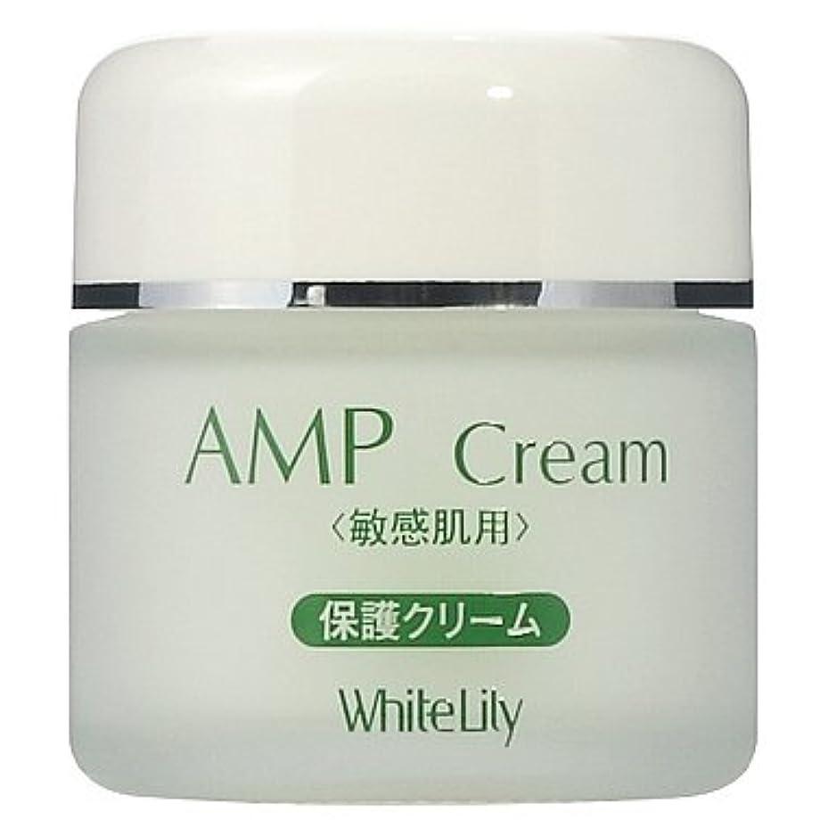 非効率的な鉛欺くホワイトリリー AMPクリーム 40g クリーム
