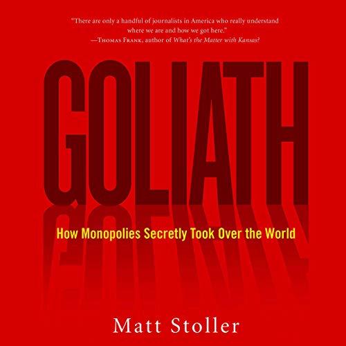 Goliath audiobook cover art