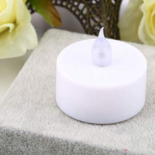 KASILU Free Combination New Year Candles Led Tea Lights Tealights Fake Led Candle Light Mini Flameless Simulation Easter Candle 37mm Party Romantic