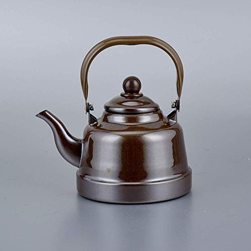 YINGGEXU Juego de té Hervidor Hervidor de agua 1.1L estilo japonés porcelana antigua campana olla restaurante verter cocina agua retro tetera