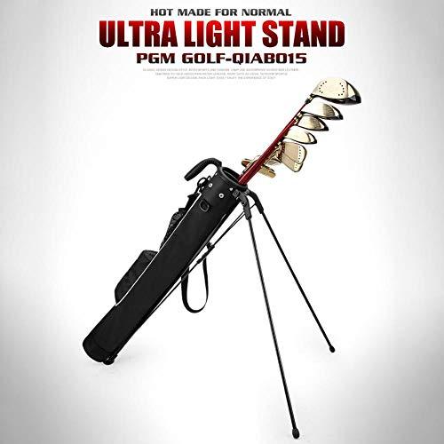 Stand-und Tragebag | Mit Standfüßen | Optimales Range- Golf Pencilbag Mit Ständer Und Reisebag | Standbag Pitch and Putt Leichte Stand/Carry Golf Stand-Tasche, Leichte Easy Carry-Reisetasche Golf