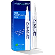 AuraGlow Teeth Whitening Pen, 35% Carbamide Peroxide, 15+ Whitening Treatments, No Sensitivity, 2mL