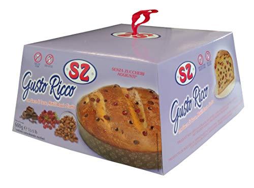 SZ - Senza Zucchero Dolce Gusto Con Gocce di Cacao, Mirtilli Rossi e Uvetta Pasqua, 600g
