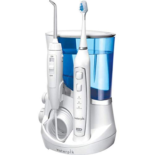 Waterpik Dental-Center Complete Care Center 5.0 WP-861E 2-in-1 Munddusche mit Schallzahnbürste