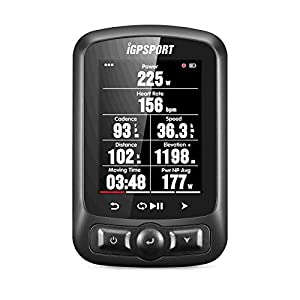 iGPSPORT Ciclocomputador GPS iGS620 Ciclismo Bicicleta Computadora Mapa Navegación Impermeable inalámbrica Compatible con sensores Ant+ o Bluetooth