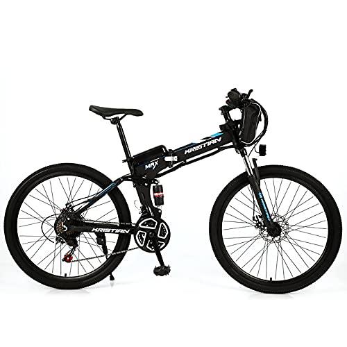 ZGZFEIYU 26-Zoll-Elektrofahrrad Mountainbike Für Erwachsene Mit Variabler Geschwindigkeit, Ausgestattet Mit 36 V 8Ah / 10Ah / 12Ah/16Ah/20Ah Lithiumbatterie Und 21-Fach-b||36V20AH