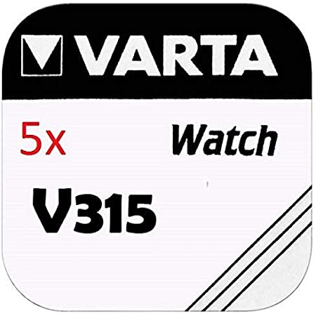 Varta V315 Knopfzelle Sr716sw 10 Stück Silber Elektronik