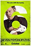 Seven PSYCHOPATHS - Tom WAITS – Film Poster Plakat