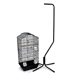 Easipet Large Metal Bird Cage with Stand Suitable For Multiple Birds