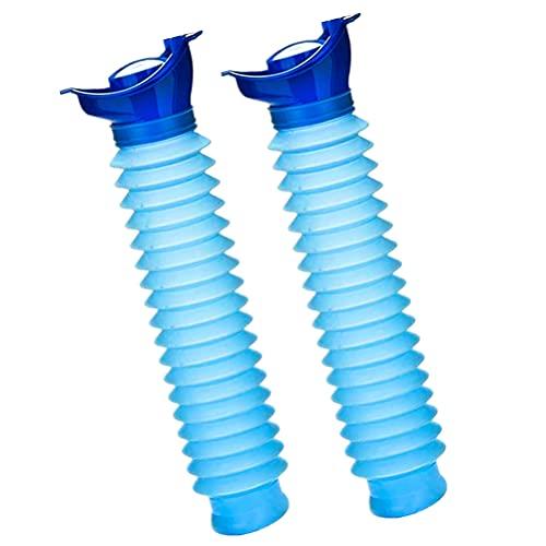 IWILCS 2 Pcs Orinal Urinario Portátil, Urinario de Emergencia, Reutilizable portátil Botella...