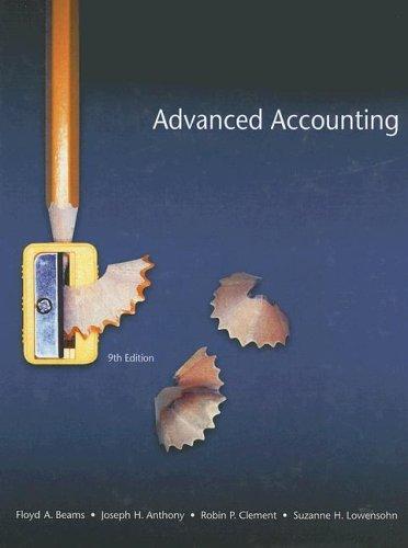 Advanced Accounting (9th Edition)