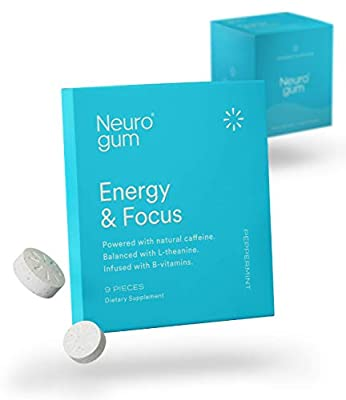 Energy+ Focus+ Clarity: NeuroGum's quick release formulation contains the ideal balance of nootropics designed to give you a clean and balanced boost. Quick effects: Our patented cold compression system maximizes the delivery and bioavailability of a...
