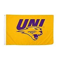 Desert Cactus University of Northern Iowa NCAA 100% Polyester Indoor Outdoor 3 feet x 5 feet Flag (Style 4a) [並行輸入品]