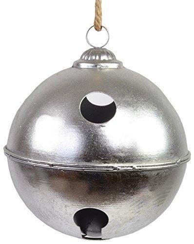 CHICCIE Cloche de Noël géante en métal Ø 25 cm – Boule de Noël décorative.