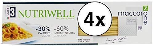 Nutriwell 4 Confezioni Spaghetti Proteici 500g