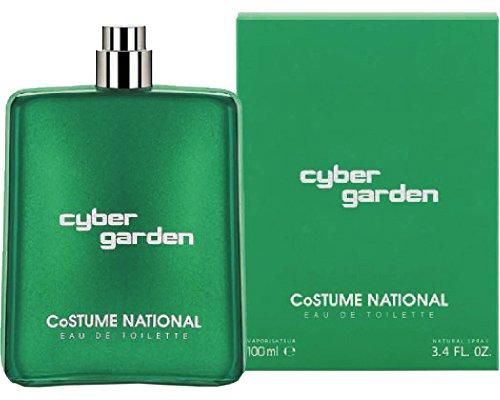 Costume National Cyber Garden Eau de Toilette, Uomo, 100 ml