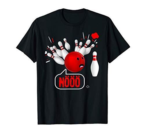 Bowling Geschenk Bowler Bowlingkugel Spare Split Humor T-Shirt