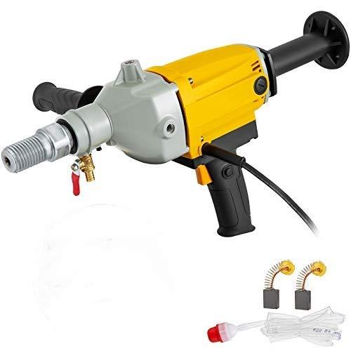VEVOR Taladro Percutor 2180 W Máquina Perforadora con Núcleo con Diámetro de Perforación 130 mm Taladradora de Percusión con Maletín Taladro de Nucleos