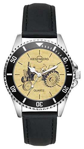 Geschenk für Lanz Bulldog Traktor Trecker Fahrer Fans Kiesenberg Uhr L-20453