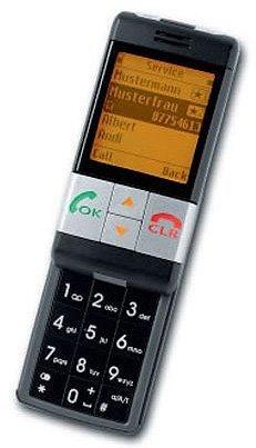 Emporia emporiaLIFE Handy (Seniorenhandy, Hörgeräte tauglich, mit Notruf-Funktion) schwarz