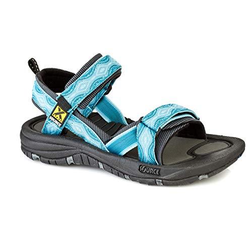 Source Gobi dames sandalen, blauw, maat 42