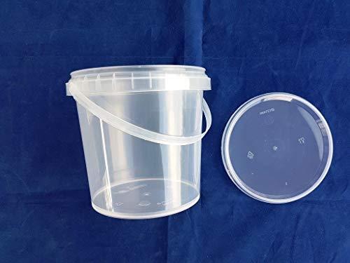 (paquete de 35) 1000 ml fuerte 1 litro de almacenamiento de ensalada contenedores cubo quitar comida rápida desechable